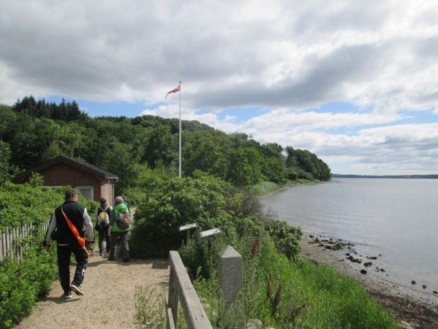 An der Schusterkate ging es von Wassersleben (D) in Richtung Dänemark