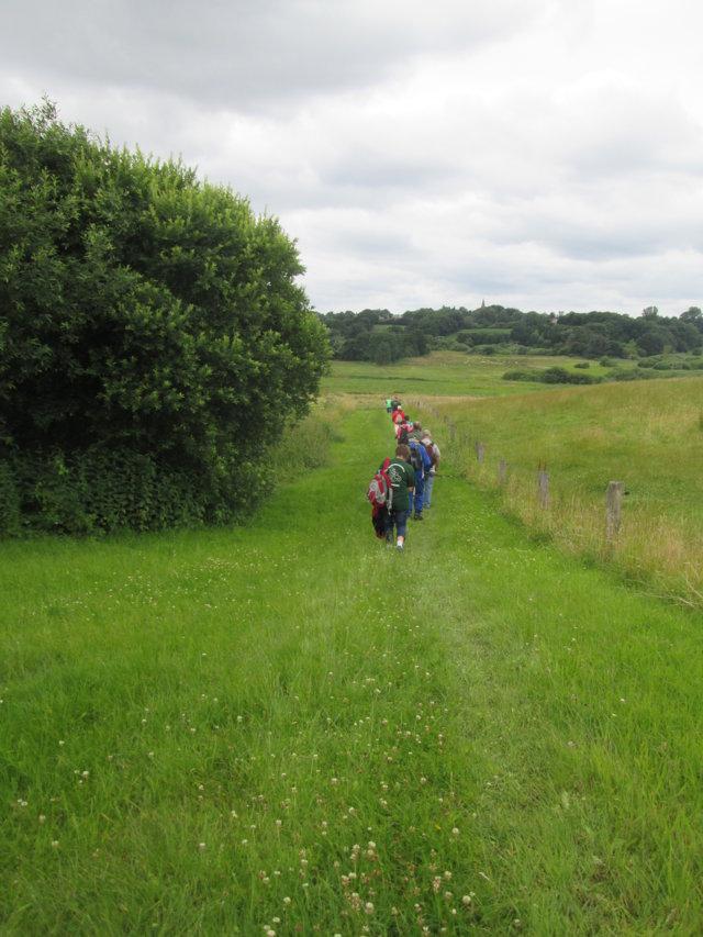 Auch in Dänemark kann man schön wandern