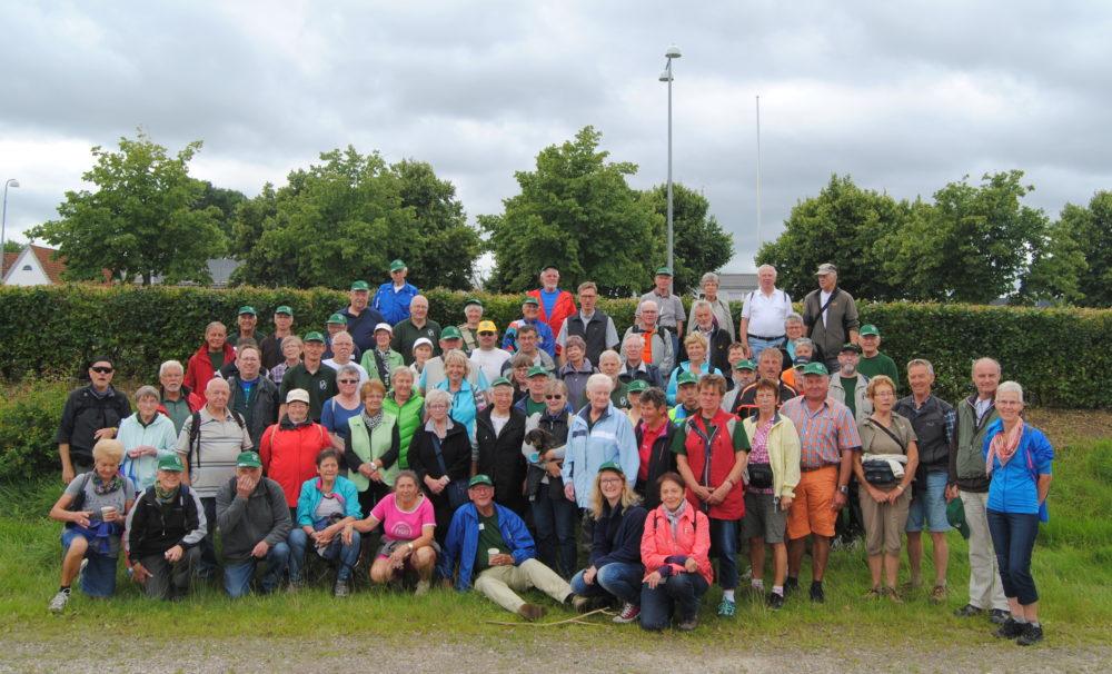 Teilnehmer der Wanderwoche 2016