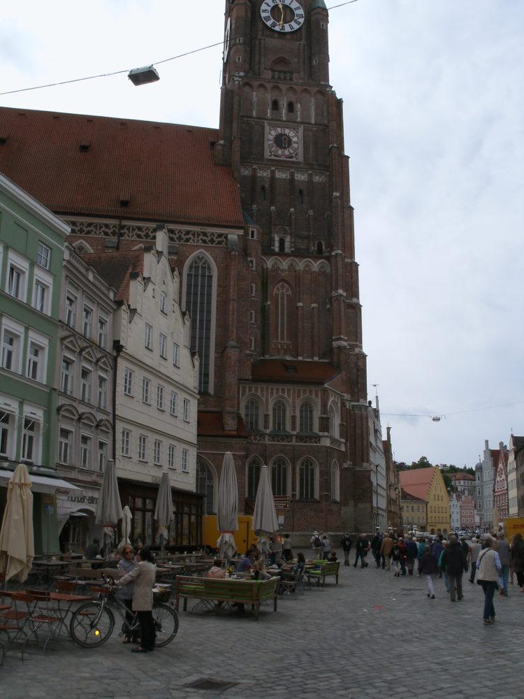 Pfarr- und Stiftskirche St. Martin in Landshut