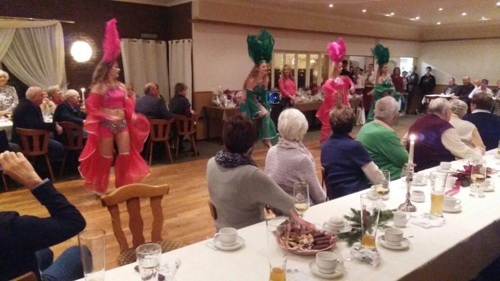 Die Samba-Tänzerinnen Mulecada aus Medelby
