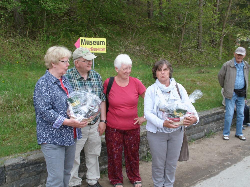 Ein Dank an die Organisatorinnen von den Wanderfreunden Rügen