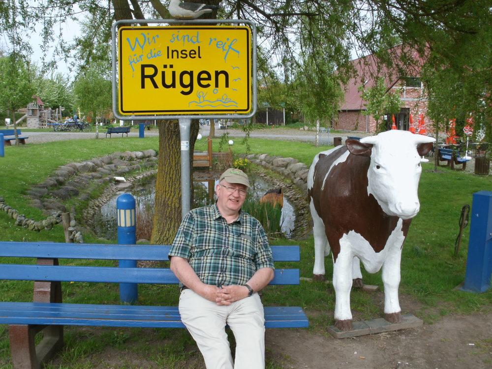 Hans auf der Insel Rügen