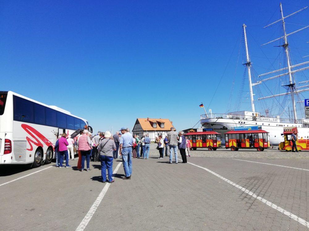 Zwischenstation am Stralsunder Hafen