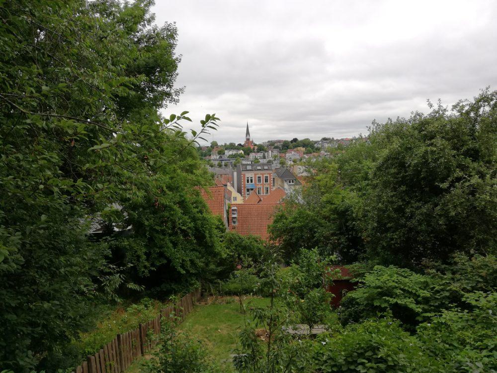 Ein Blick auf Flensburg
