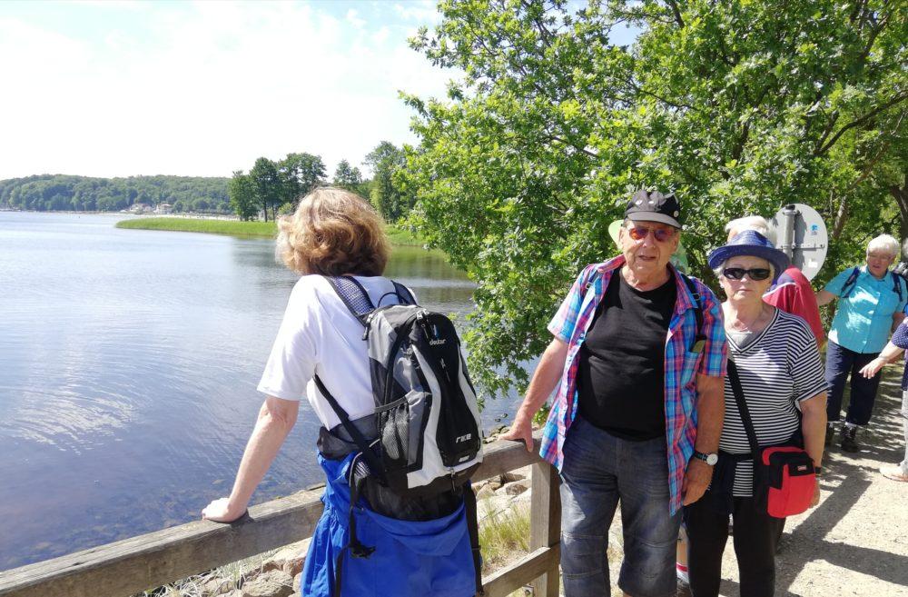 Ein Blick über die Ostsee an der Schusterkate