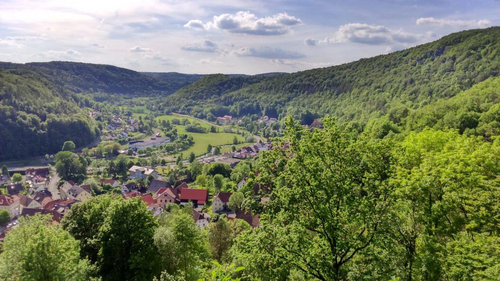 Blick auf Muggendorf