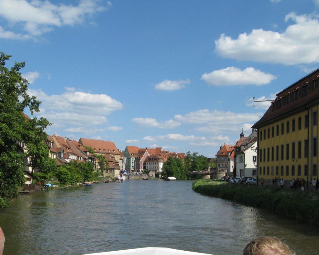 Bamberg vom Wasser aus